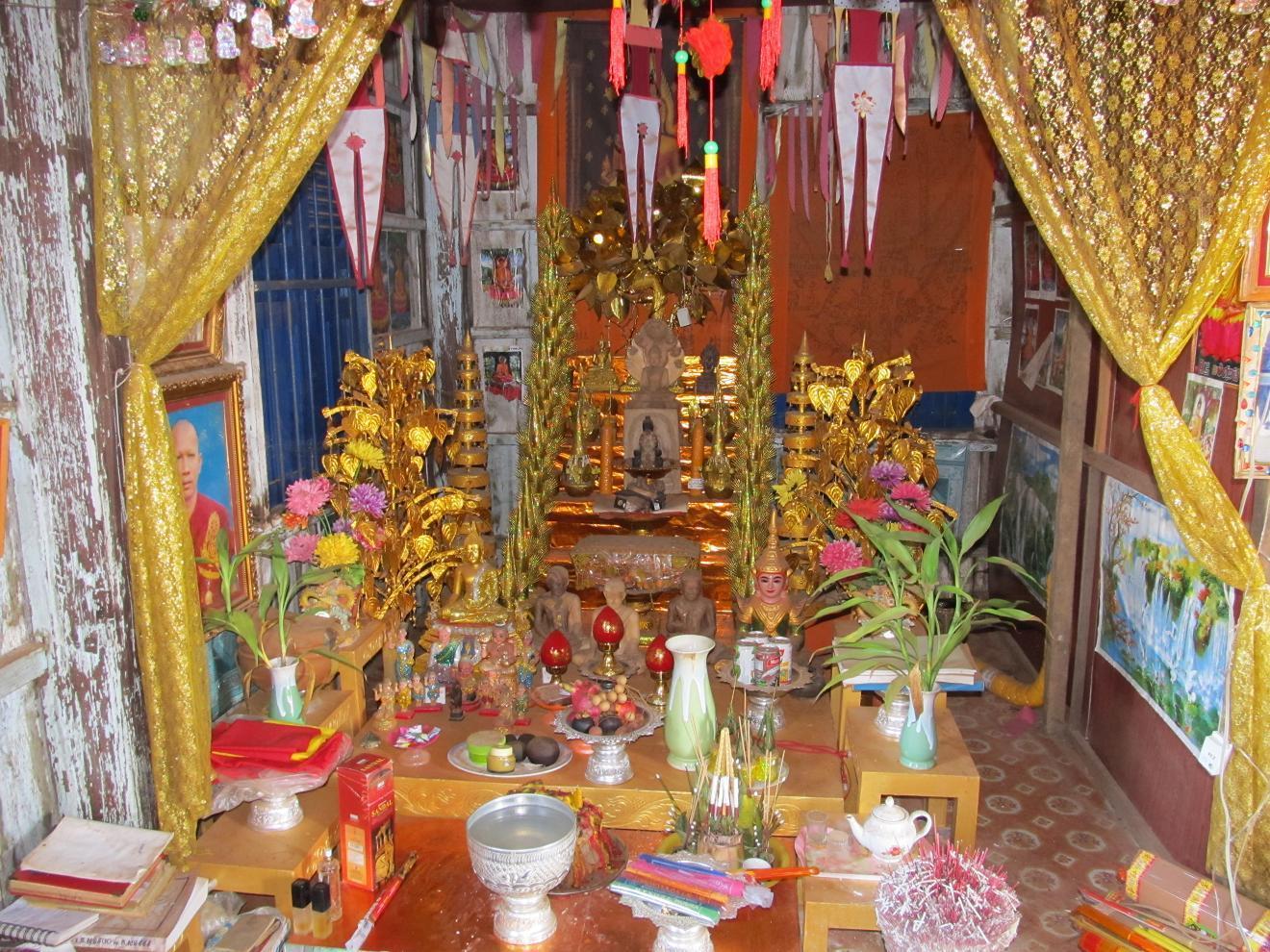 Kambodžská vesnice