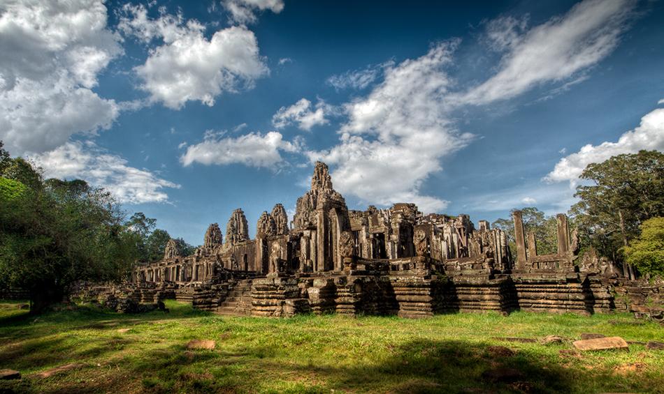 Kambodža s fotografem - Bayon