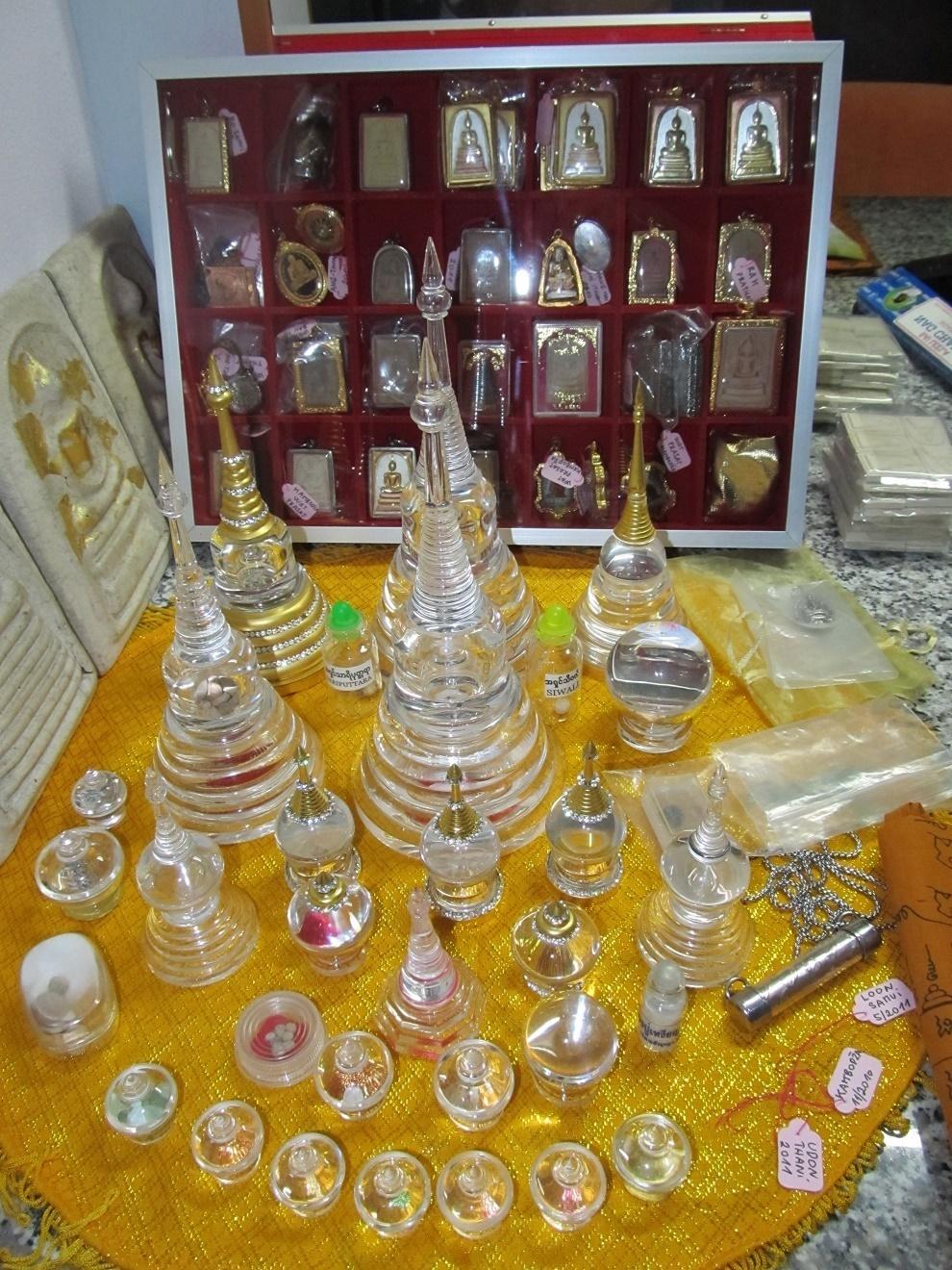Soukromá kolekce relikvií - Thajsko
