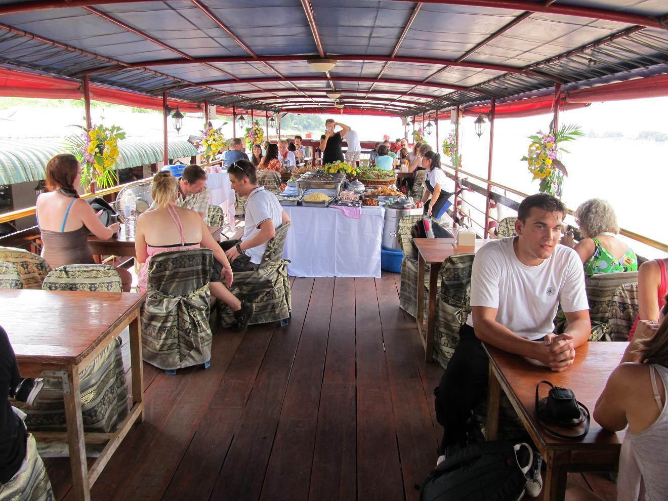 Mekong - Nong Khai - loď 2013