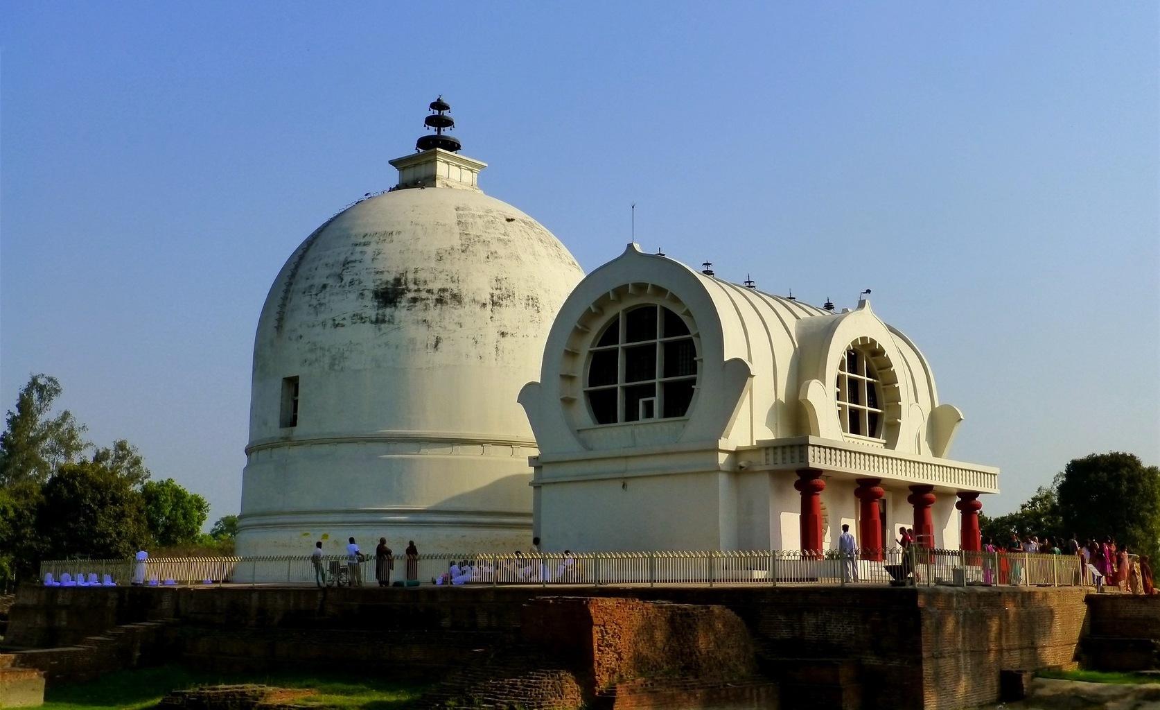 Parinirvana Temple - Kušinagara - Indie