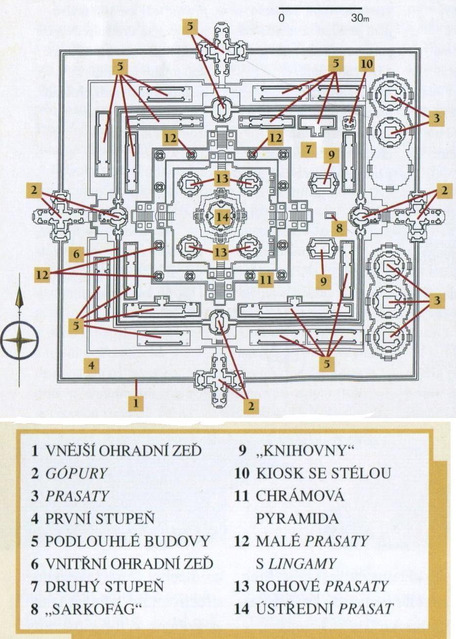 Pre Rup - mapa