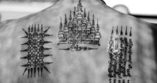 Thajské ochranné tetování - Sak Jan