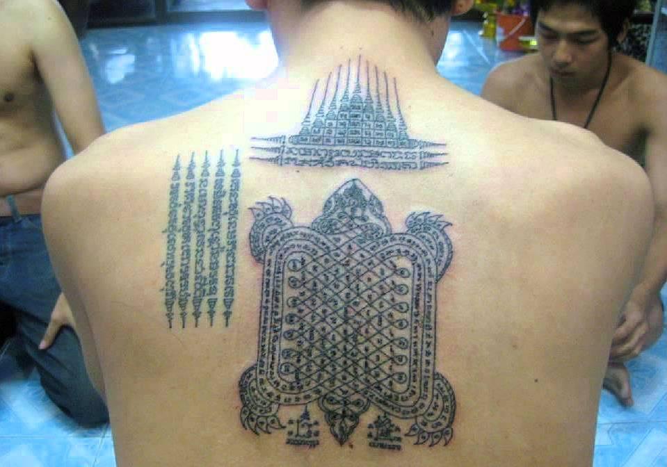 Sak Yan Thajské magické tetování