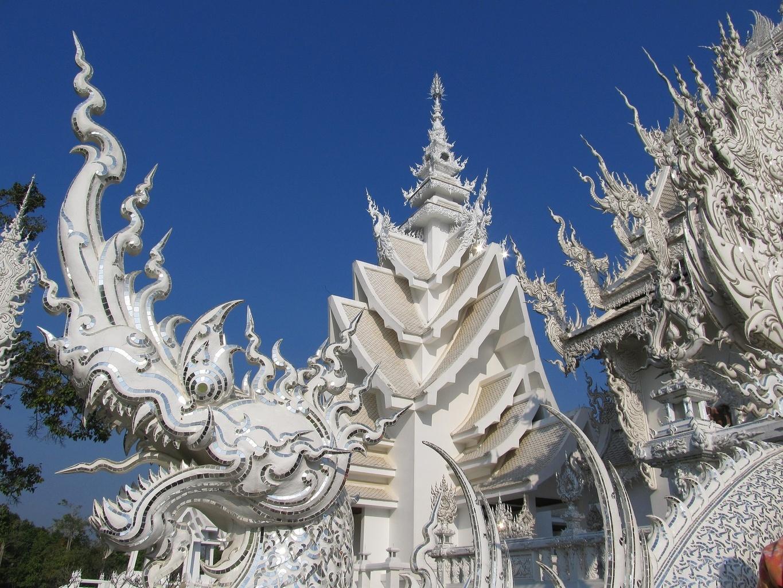 Nága - Wat Rong Khun - Chiang Rai - Thajsko