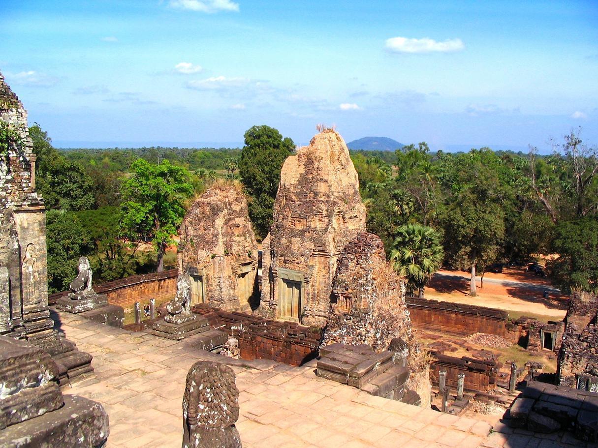 Pre Rup Angkor Kambodža