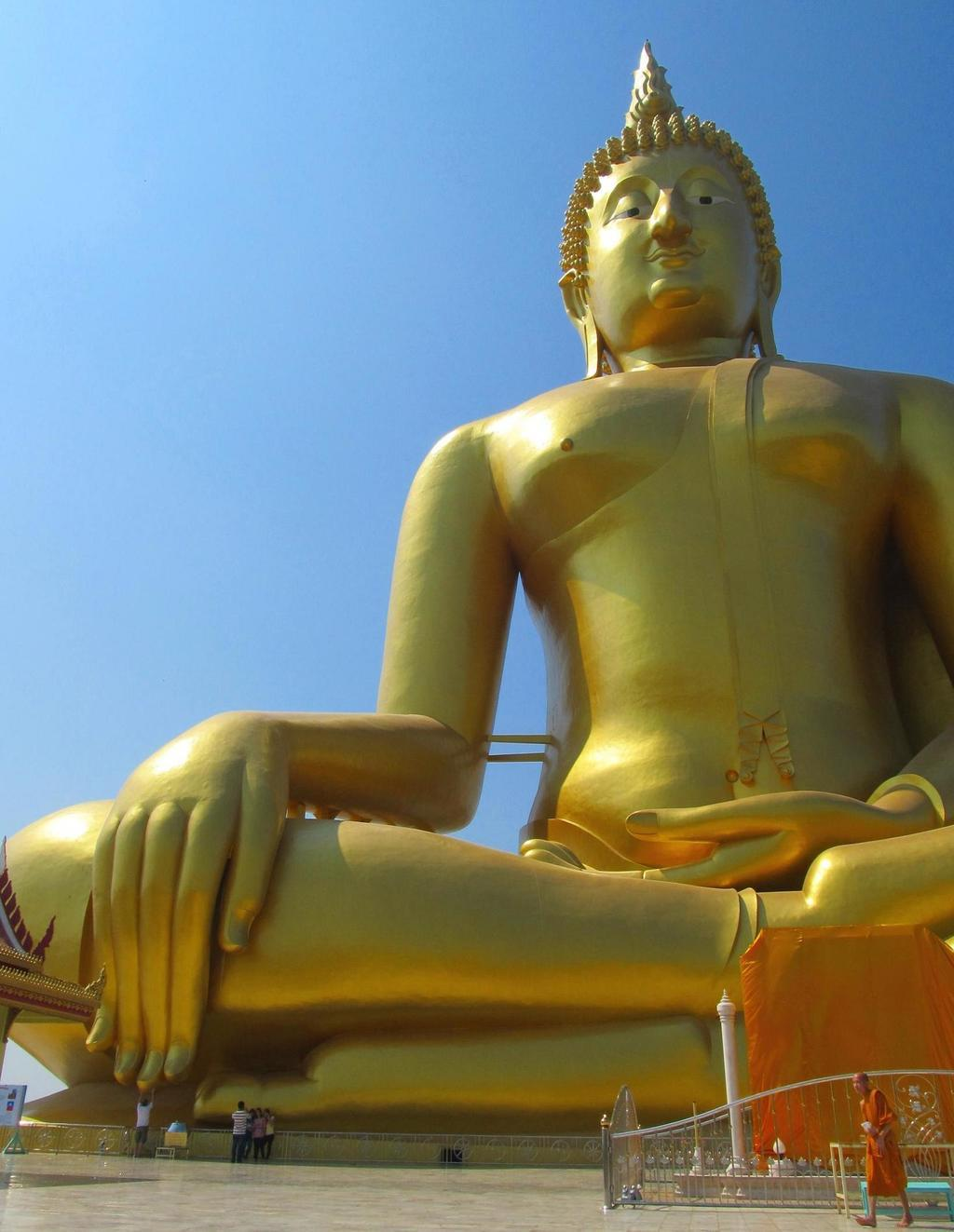 Sedící Buddha - Wat muang Thajsko