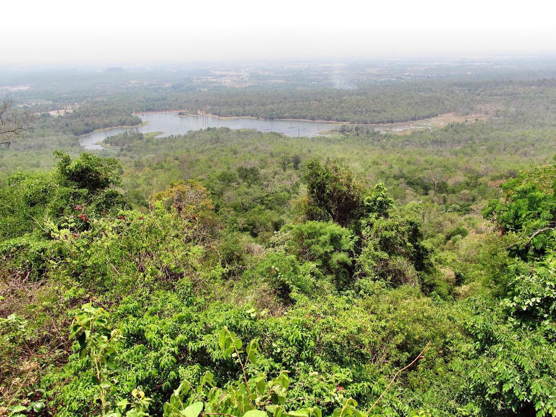 Wat Tham Puang vyhlídka