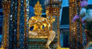 Brahma - Svatyně Erawan - Bangkok Thajsko