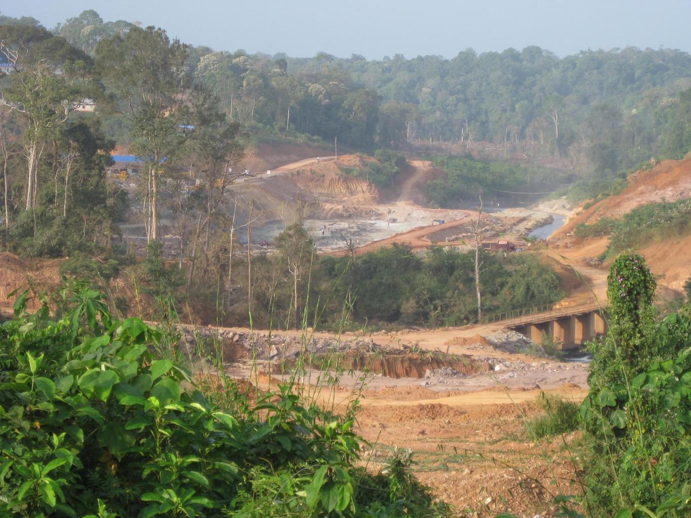Kardamonské hory - ničení ekosystému Kambodža