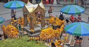 Svatyně Erawan - Bangkok - Thajsko