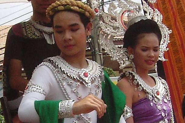 Princ Pha Daeng a princezna Nanh Hai - Festival Thajsko