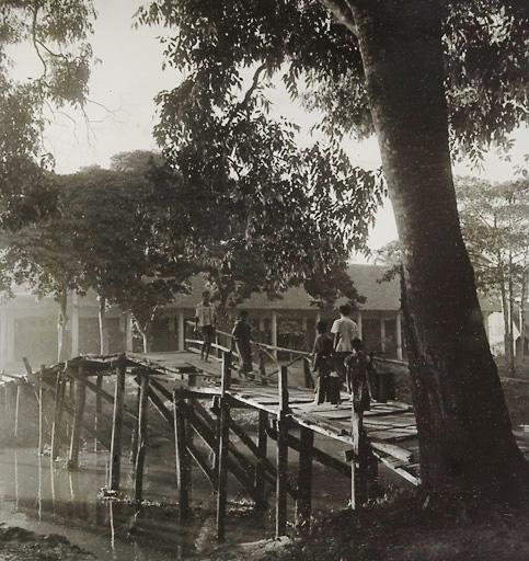 Most Járy Cimrmana 1921 v Siem Reap - Kambodža