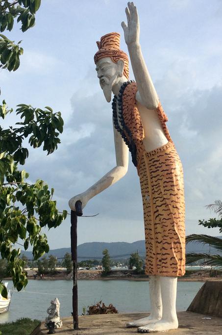 poustevnik Wat Plai Laem, Ko Samui, Thajsko