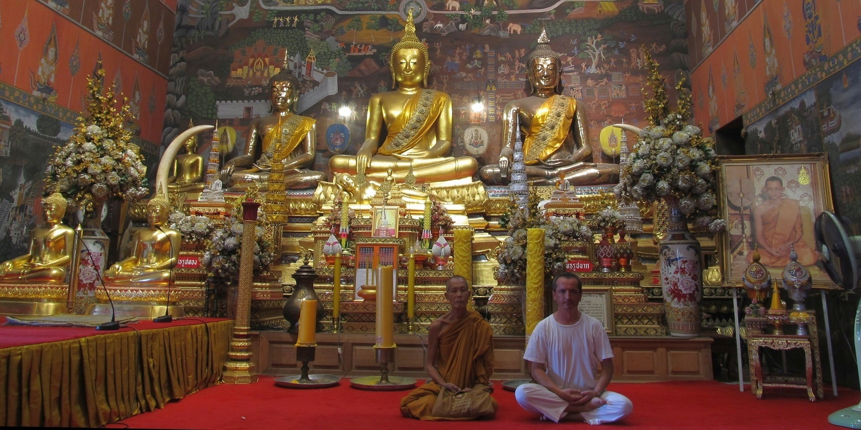Loon ve Wat Phanan Choeng - Ayutthaya