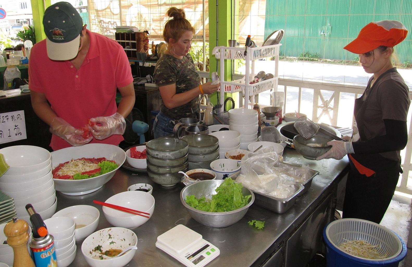 Kuchyně Restaurace Krua Toon