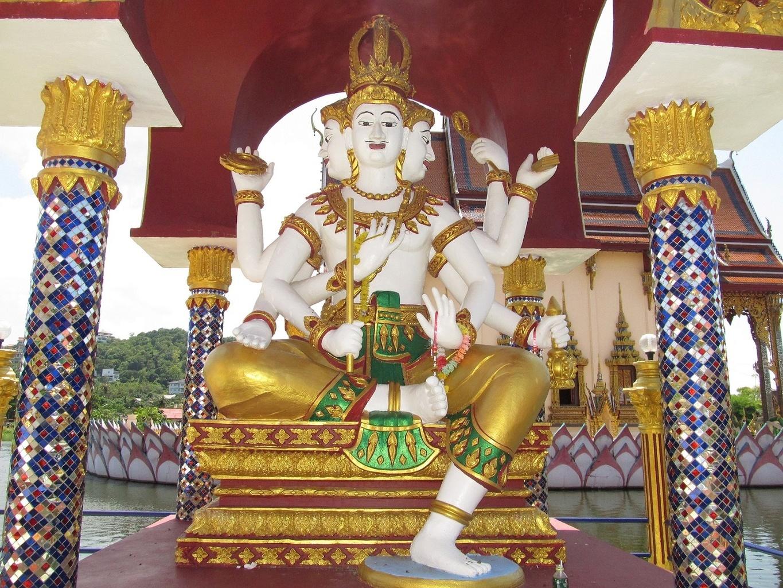 Brahma Wat Plai Laem - Ko Samui - Thajsko
