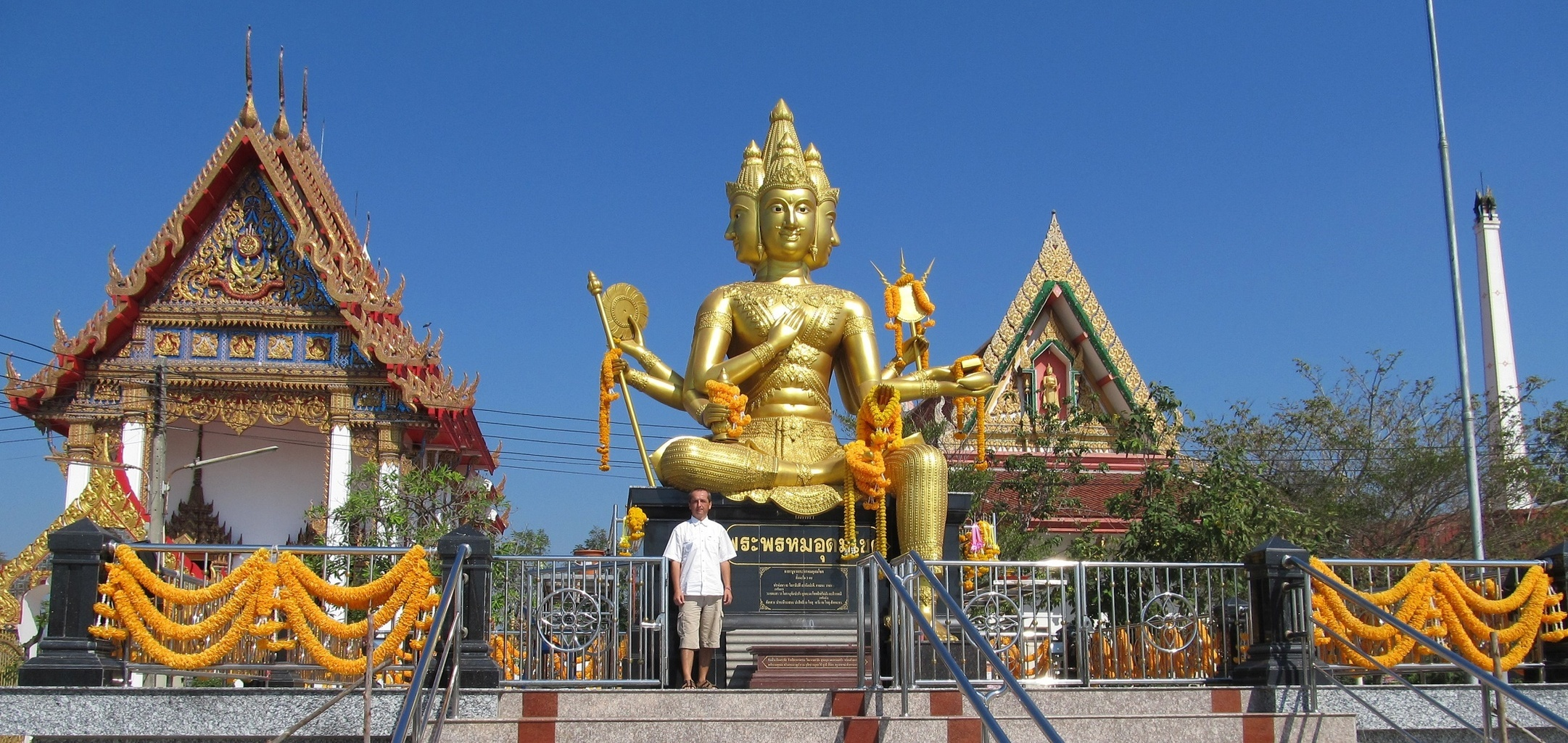 Velký Brahma v Samut Sakhon