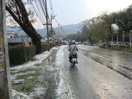 Led v Thajsku - 30.3.2010 Mae Rim, Ciang Mai