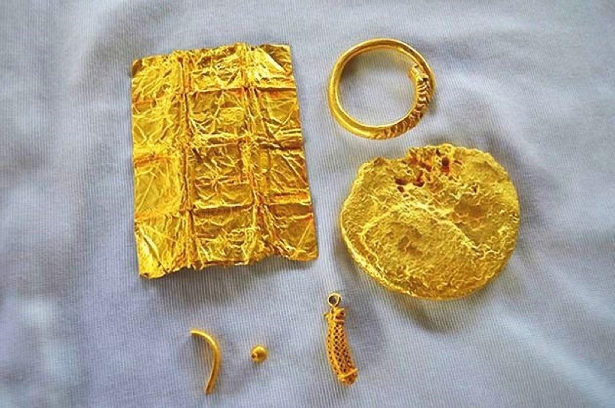 Zlatý poklad v provincii Phattalung