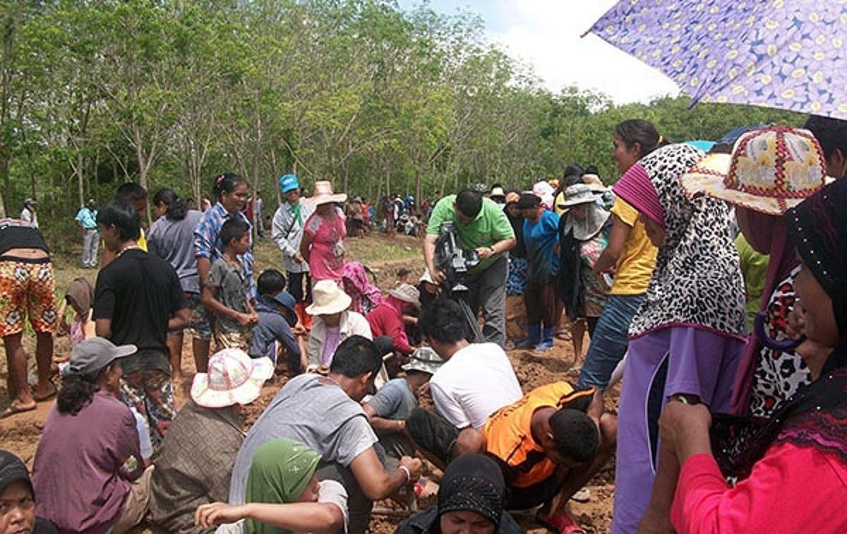 Zlatá horečka v provincii Phattalung