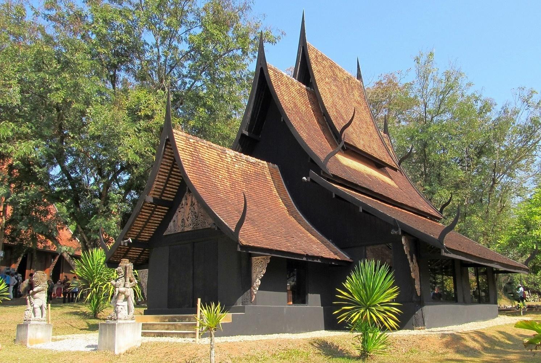 Černý klášter - Chiang Rai - Thailand