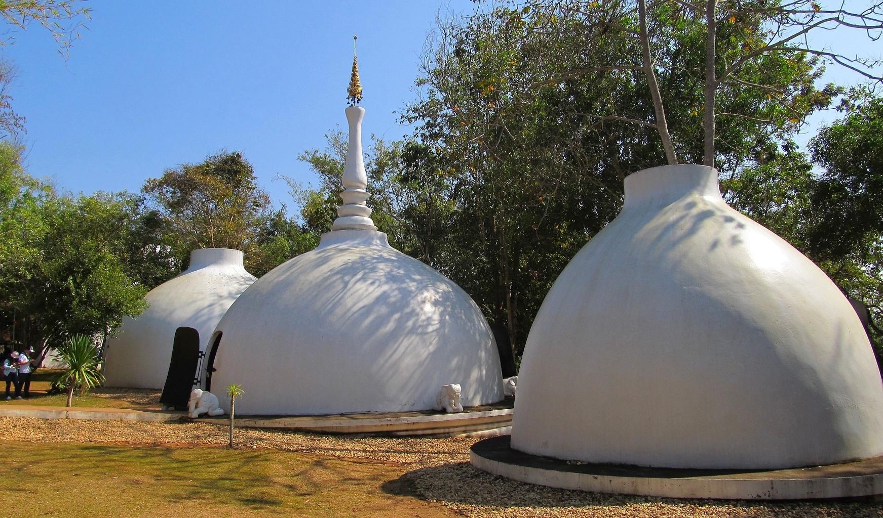 Černý klášter - Chiang Rai - Thajsko.