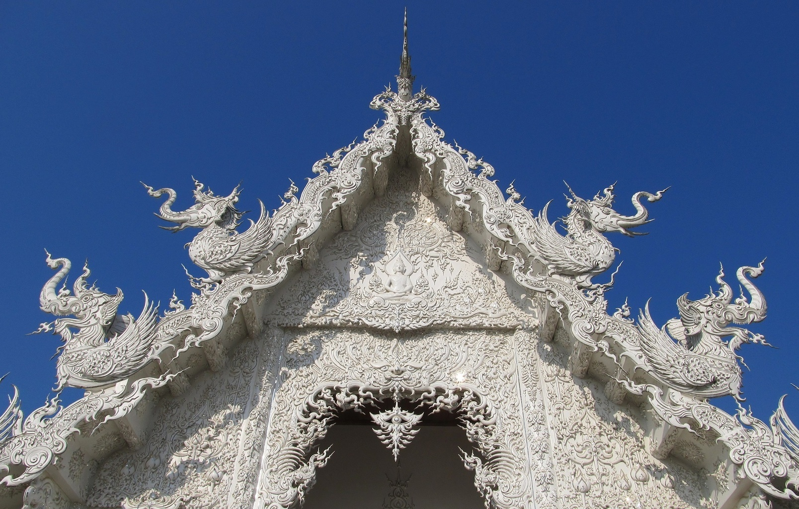 Ubusot - Wat Rong Khun - Chiang Rai - Thajsko