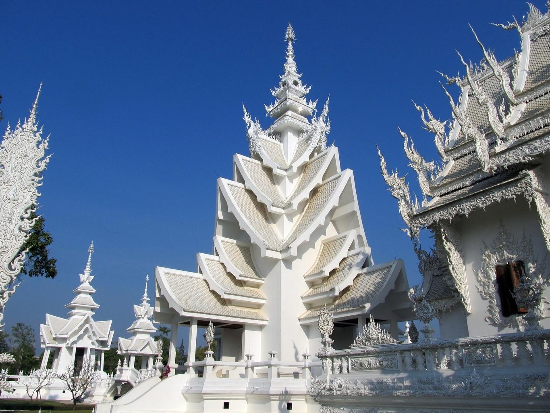 Wat Rong Khun - Chiang Rai - Thajsko