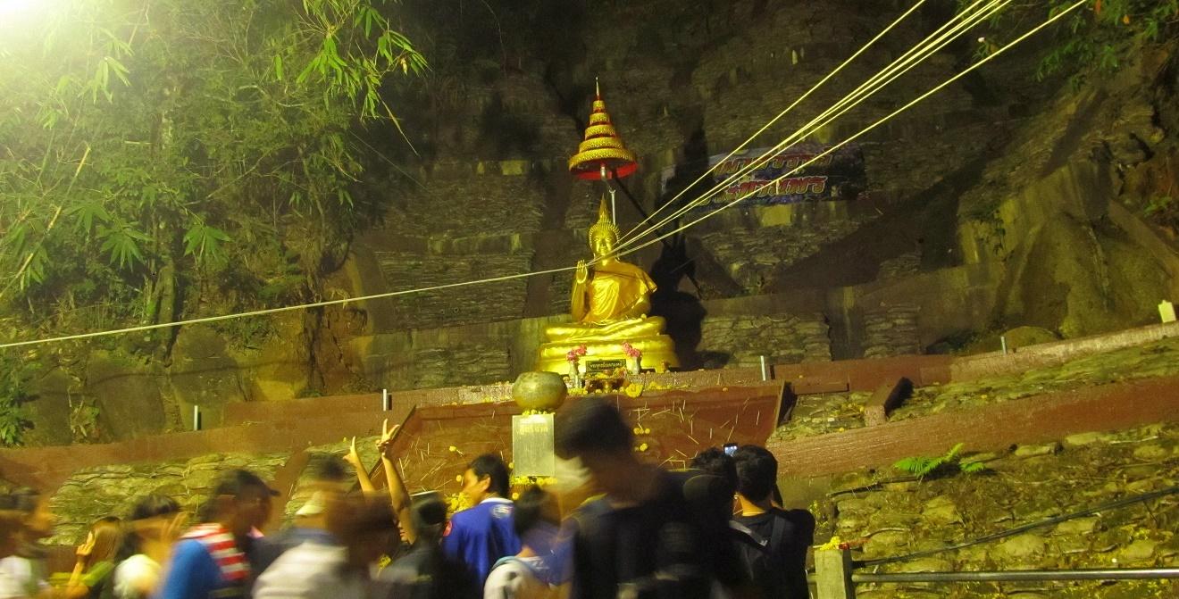 Khao Kitchakut - oltar ve skale