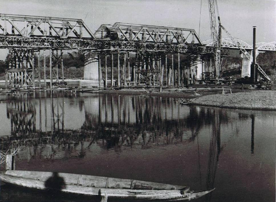 Japonci opravují most
