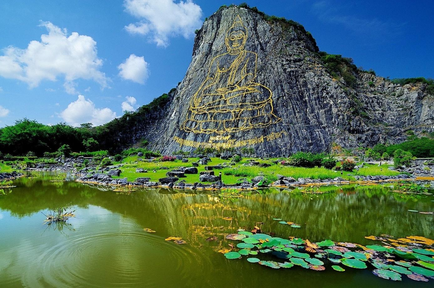 Khao Chi Chan - leknínové jezírko