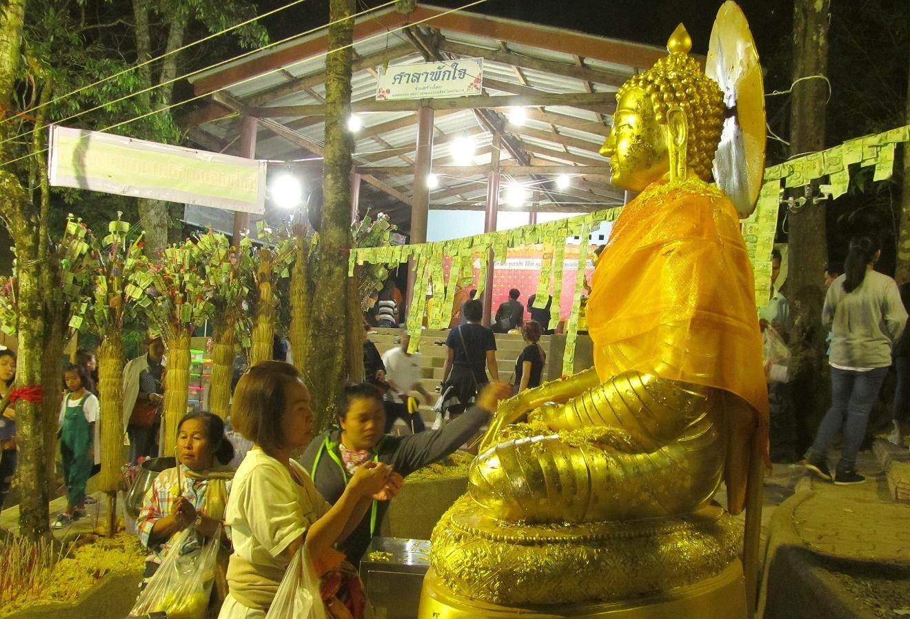 Khao Kitchakut - Buddha přijímá obětiny