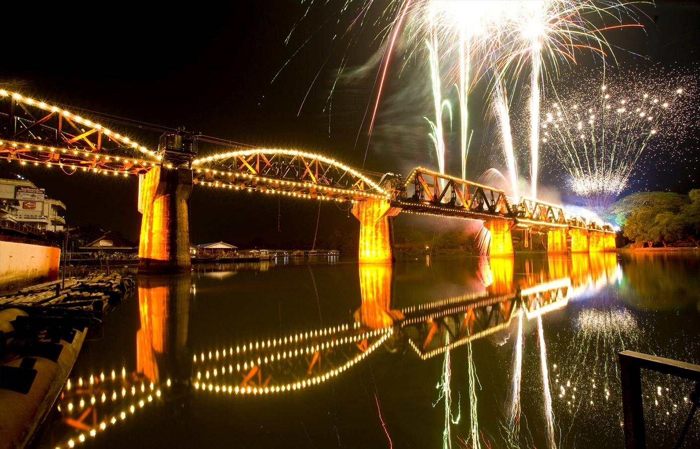 Most přes řeku Kwai - oslavy