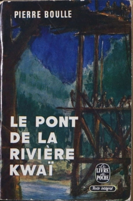 První vydání knihy most přes řeku Kwai