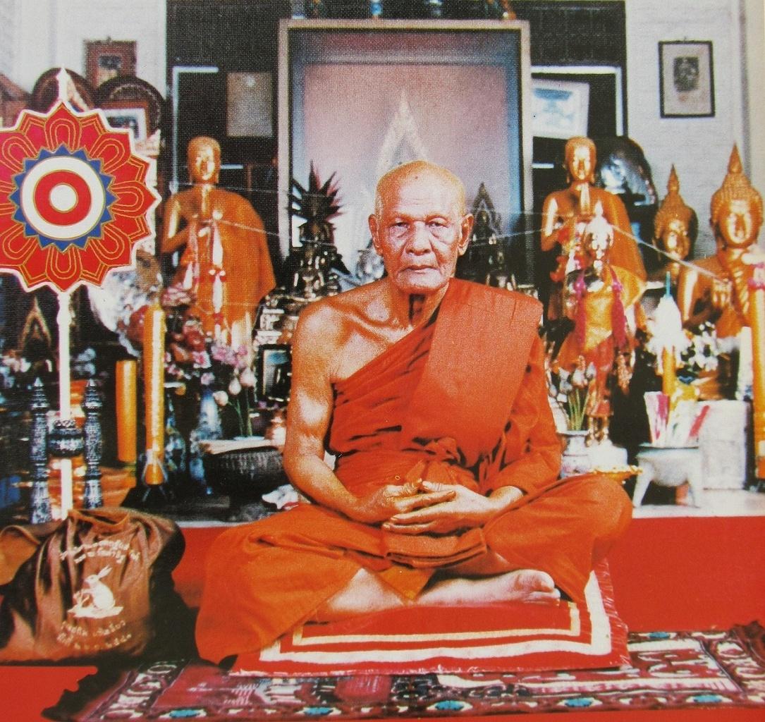 Luang Pho Hom - Wat Tha It - Thajsko