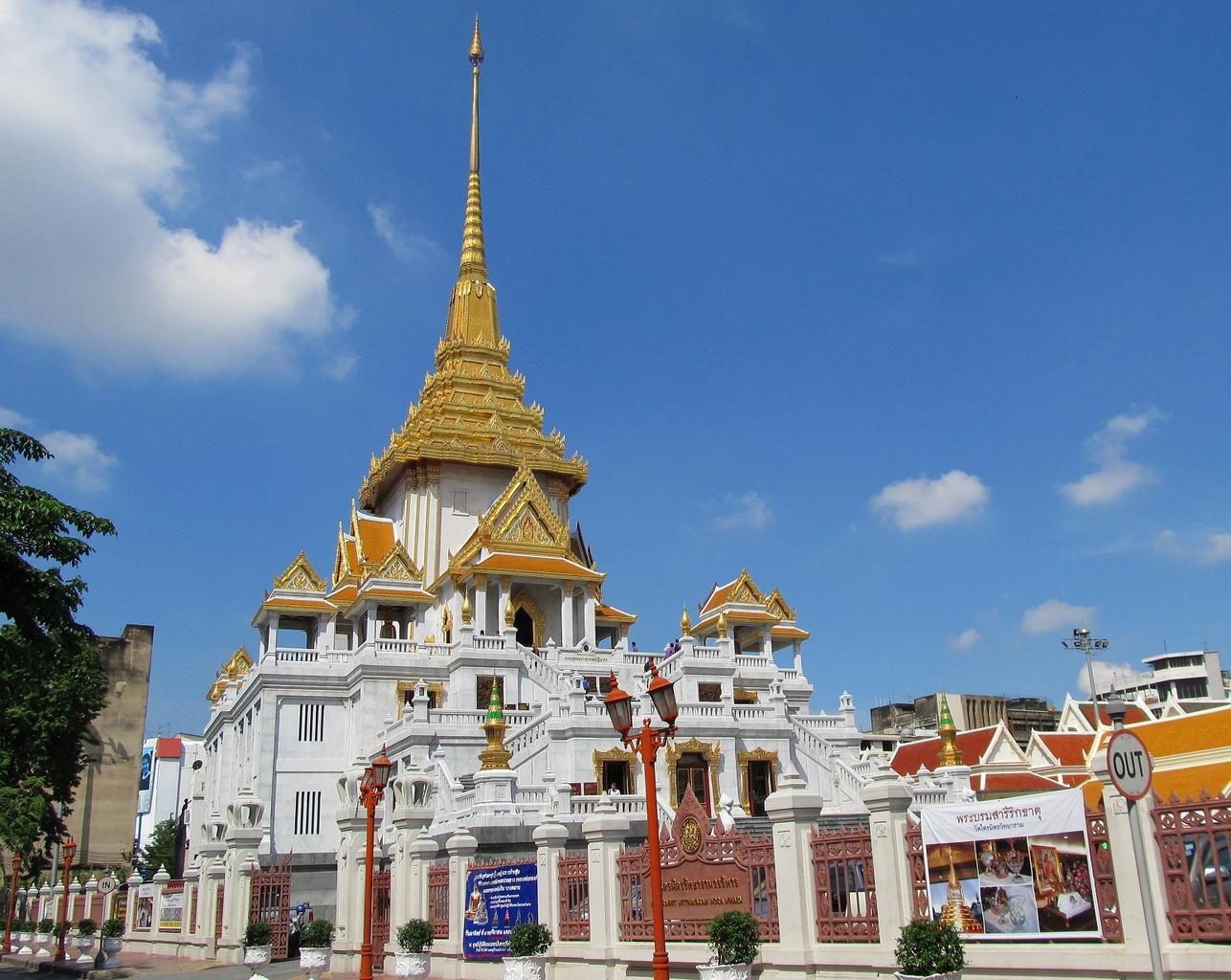Nové mramorové čedí - Wat Traimit