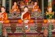 Oltář pěti Buddhů - Kep - Kambodža nahled