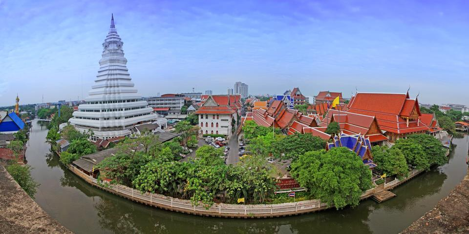 Wat Paknam Bangkok