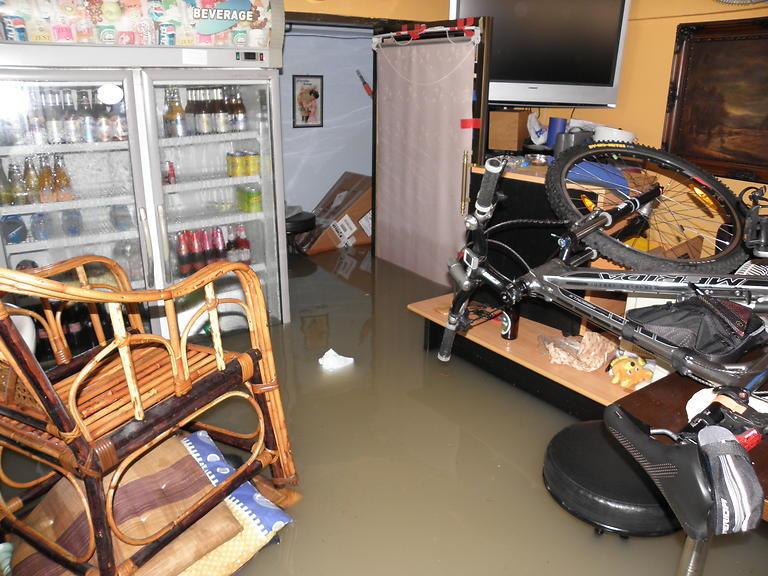 Povodeň v Guesthouse Bon Bon (1)