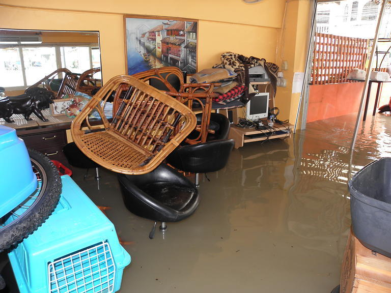 Povodeň v Guesthouse Bon Bon (13)