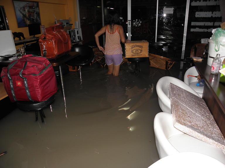 Povodeň v Guesthouse Bon Bon (14)