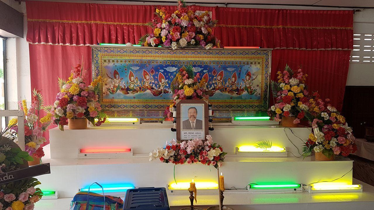 René Kroc pohřeb Pattaya (2)