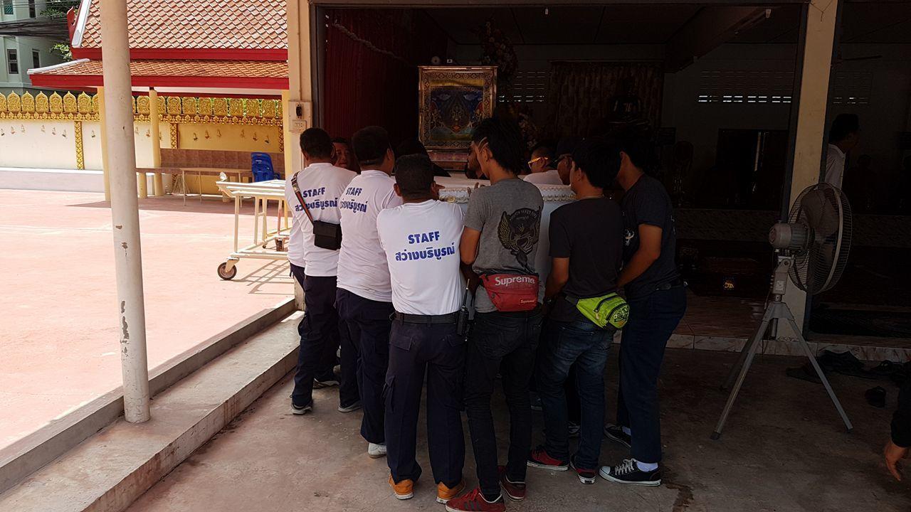 René Kroc pohřeb Pattaya (6)
