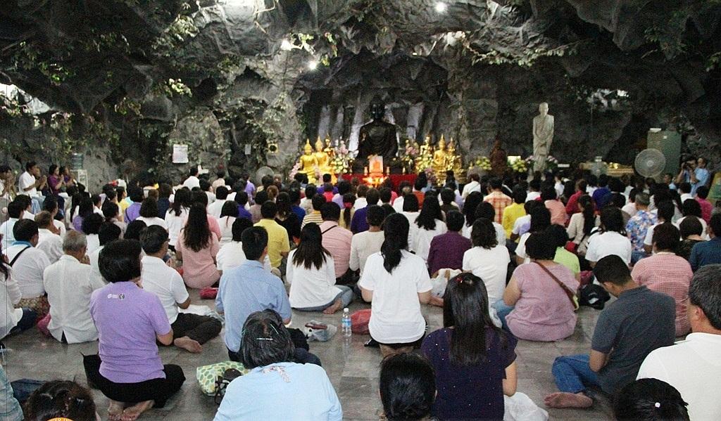 Jeskyně Osvícení - Wat Dhammamongkol
