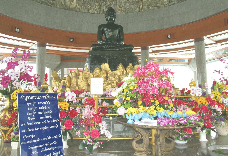 Nefritový Buddha - Wat Dhammamongkol 2010