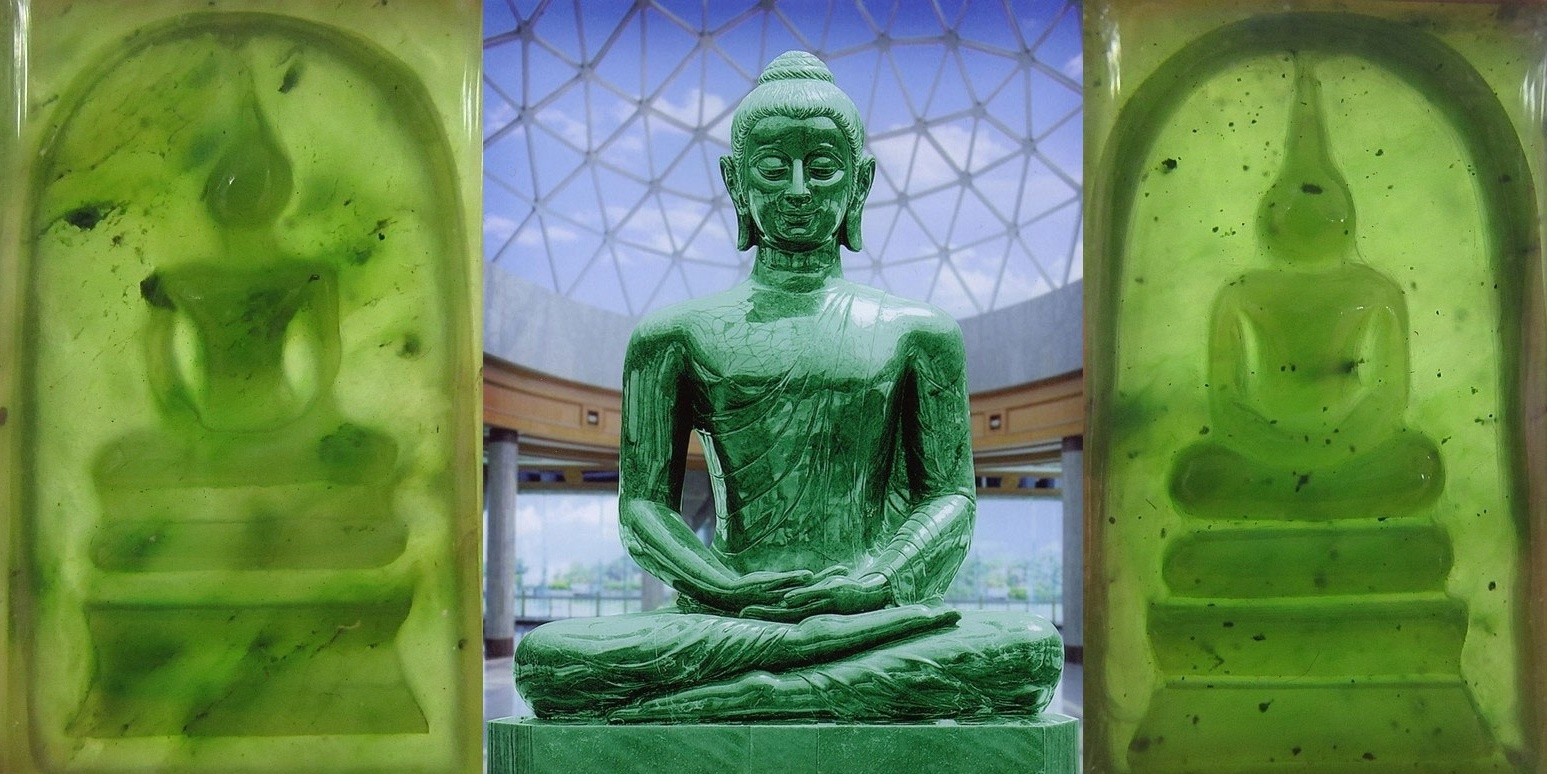 Nefritový Buddha náhled