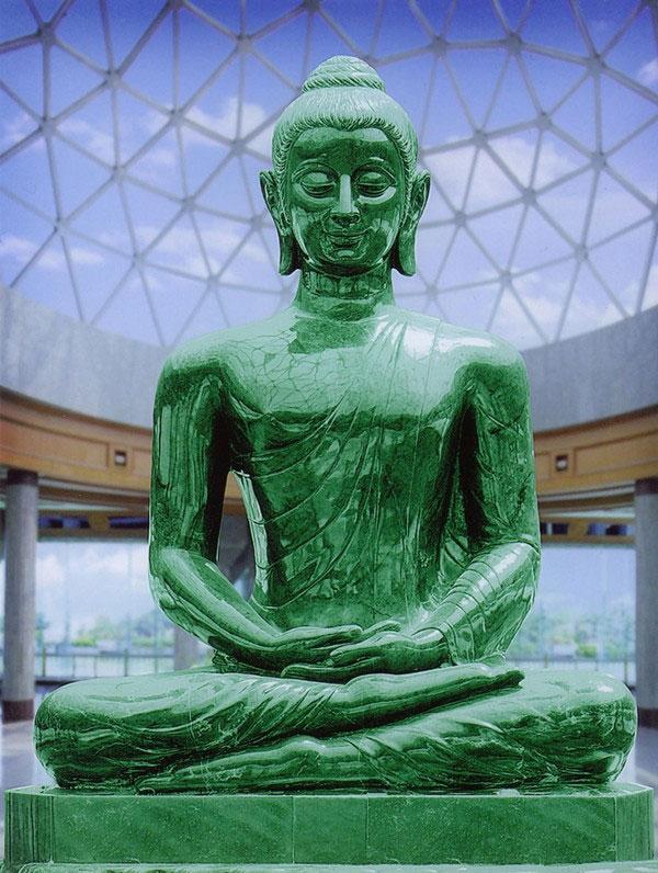 Nefritový buddha - Wat Dhammamongkol
