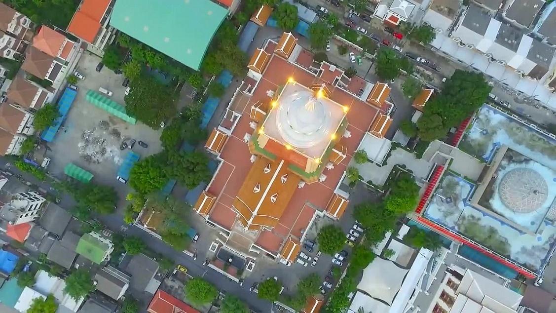 Wat Dhammamongkol pohled na areál