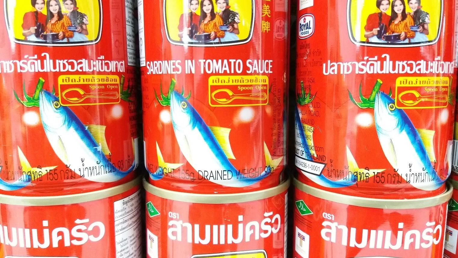 Thajská makrela v tomatu